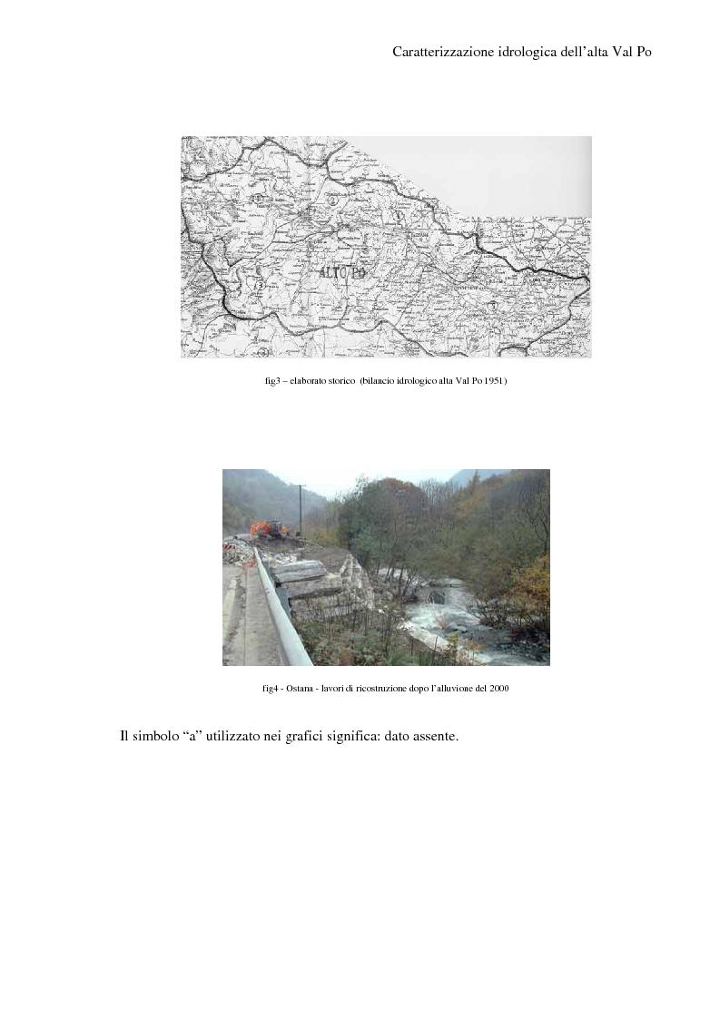 Anteprima della tesi: Caratterizzazione idrologica dell'Alta Val Po, Pagina 4