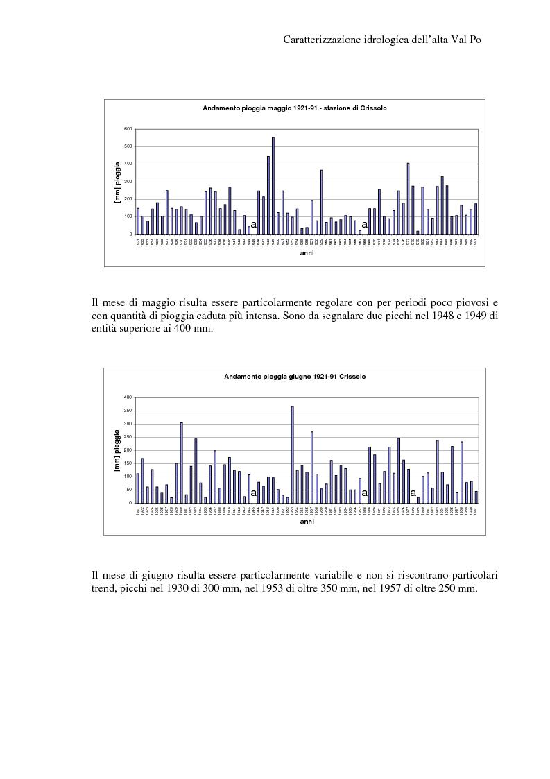 Anteprima della tesi: Caratterizzazione idrologica dell'Alta Val Po, Pagina 9