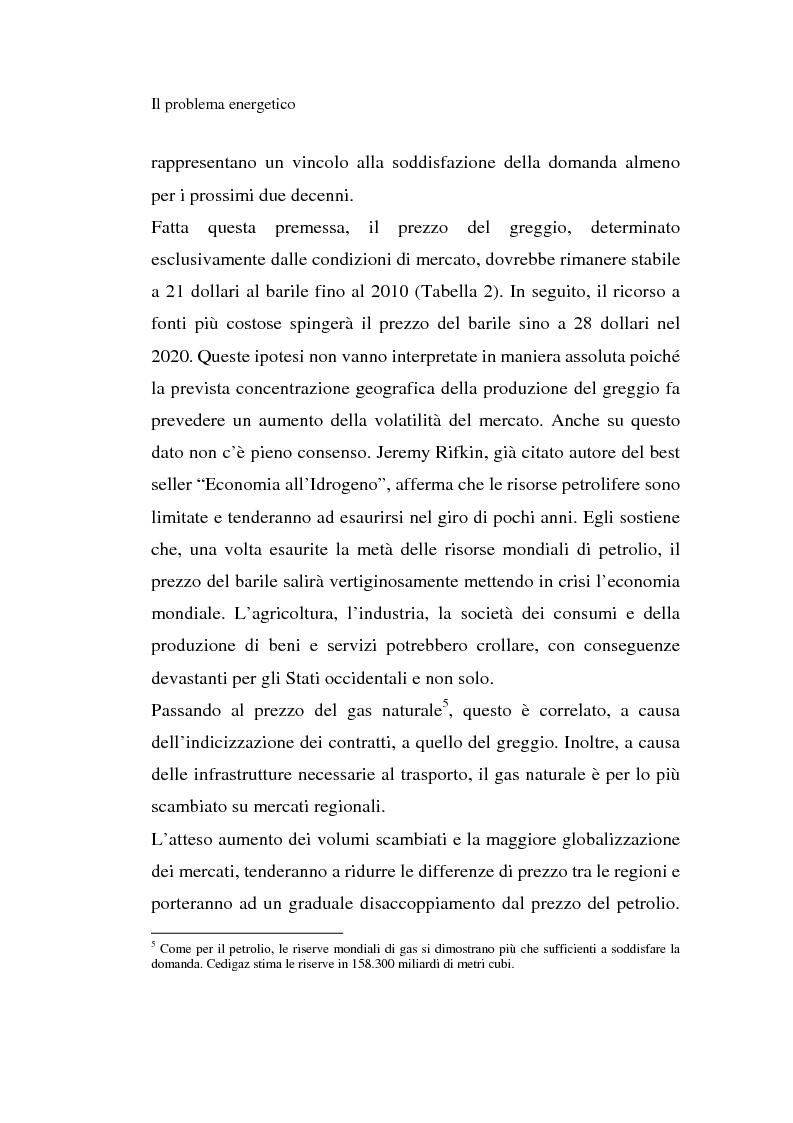 Anteprima della tesi: L'idrogeno: il vettore energetico del futuro. Prospettive di utilizzo nelle applicazioni stazionarie, Pagina 10