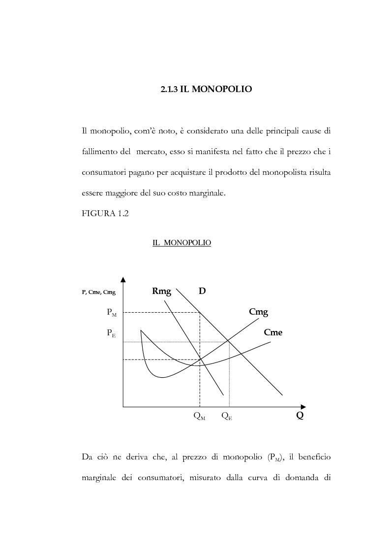 Anteprima della tesi: Il processo di liberalizzazione delle telecomunicazioni: il caso della telefonia mobile, Pagina 10