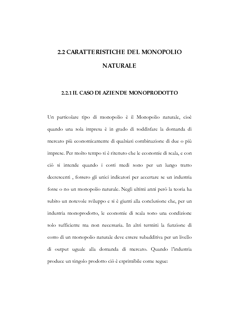 Anteprima della tesi: Il processo di liberalizzazione delle telecomunicazioni: il caso della telefonia mobile, Pagina 14