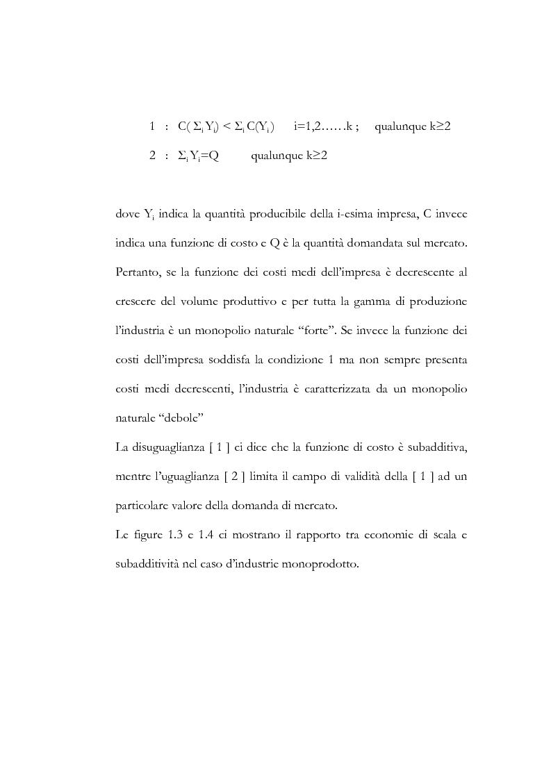 Anteprima della tesi: Il processo di liberalizzazione delle telecomunicazioni: il caso della telefonia mobile, Pagina 15