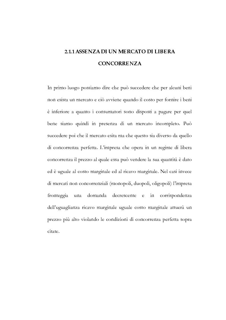 Anteprima della tesi: Il processo di liberalizzazione delle telecomunicazioni: il caso della telefonia mobile, Pagina 7
