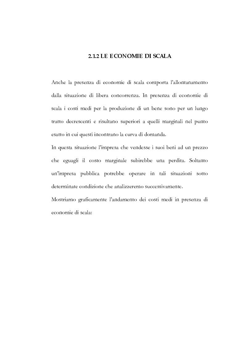 Anteprima della tesi: Il processo di liberalizzazione delle telecomunicazioni: il caso della telefonia mobile, Pagina 8