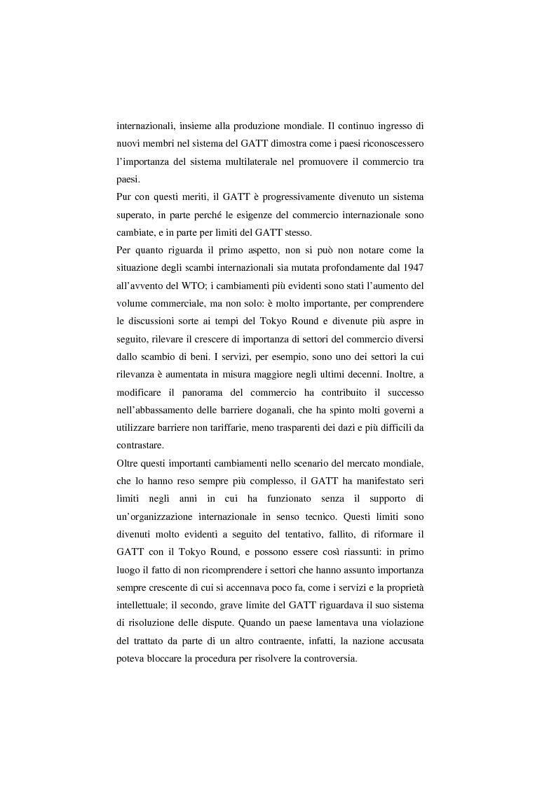Anteprima della tesi: Il Wto e l'Unione europea, Pagina 14