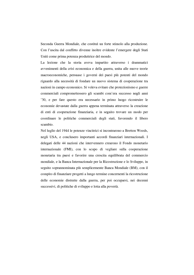 Anteprima della tesi: Il Wto e l'Unione europea, Pagina 2