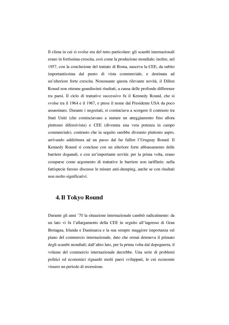 Anteprima della tesi: Il Wto e l'Unione europea, Pagina 8