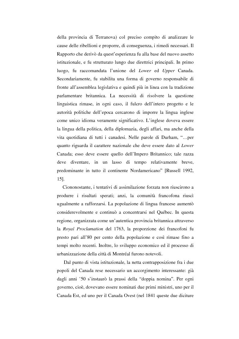 Anteprima della tesi: Il Canada: sistema federale e crisi di statualità, Pagina 13