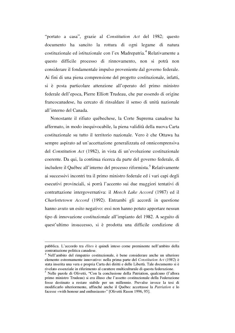 Anteprima della tesi: Il Canada: sistema federale e crisi di statualità, Pagina 6