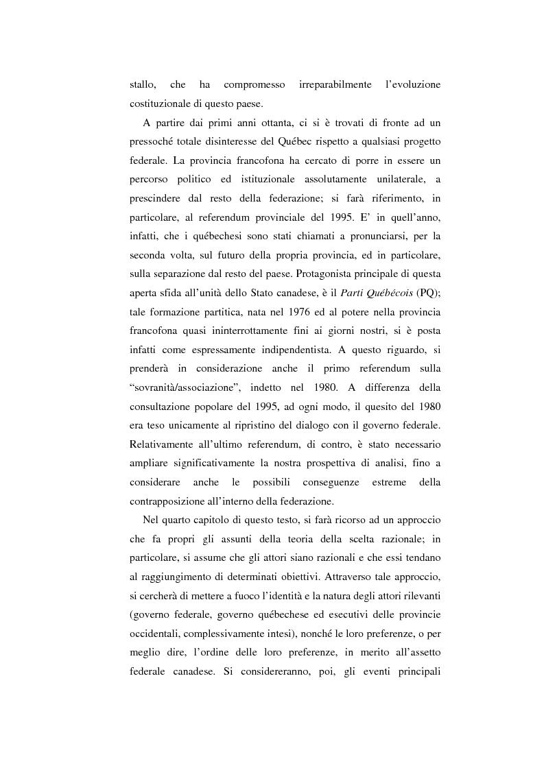 Anteprima della tesi: Il Canada: sistema federale e crisi di statualità, Pagina 7