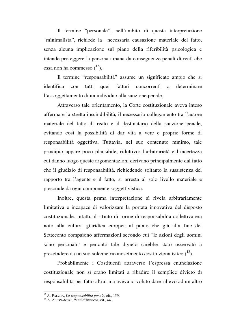 Anteprima della tesi: La responsabilità da reato dell'ente collettivo, Pagina 10