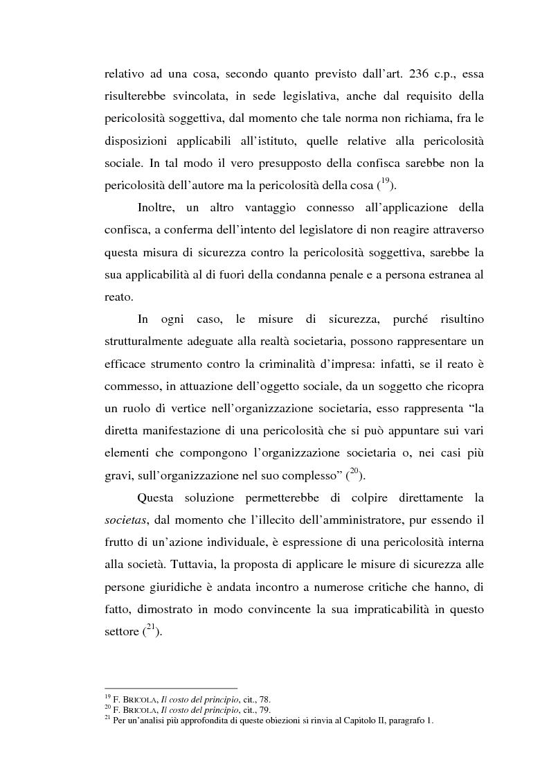 Anteprima della tesi: La responsabilità da reato dell'ente collettivo, Pagina 14