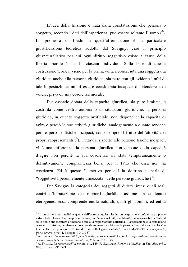 Anteprima della tesi: La responsabilità da reato dell'ente collettivo, Pagina 3