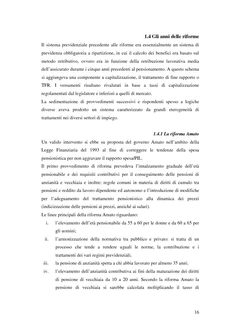 Anteprima della tesi: Il terzo pilastro della previdenza: analisi di un decollo mancato, Pagina 11
