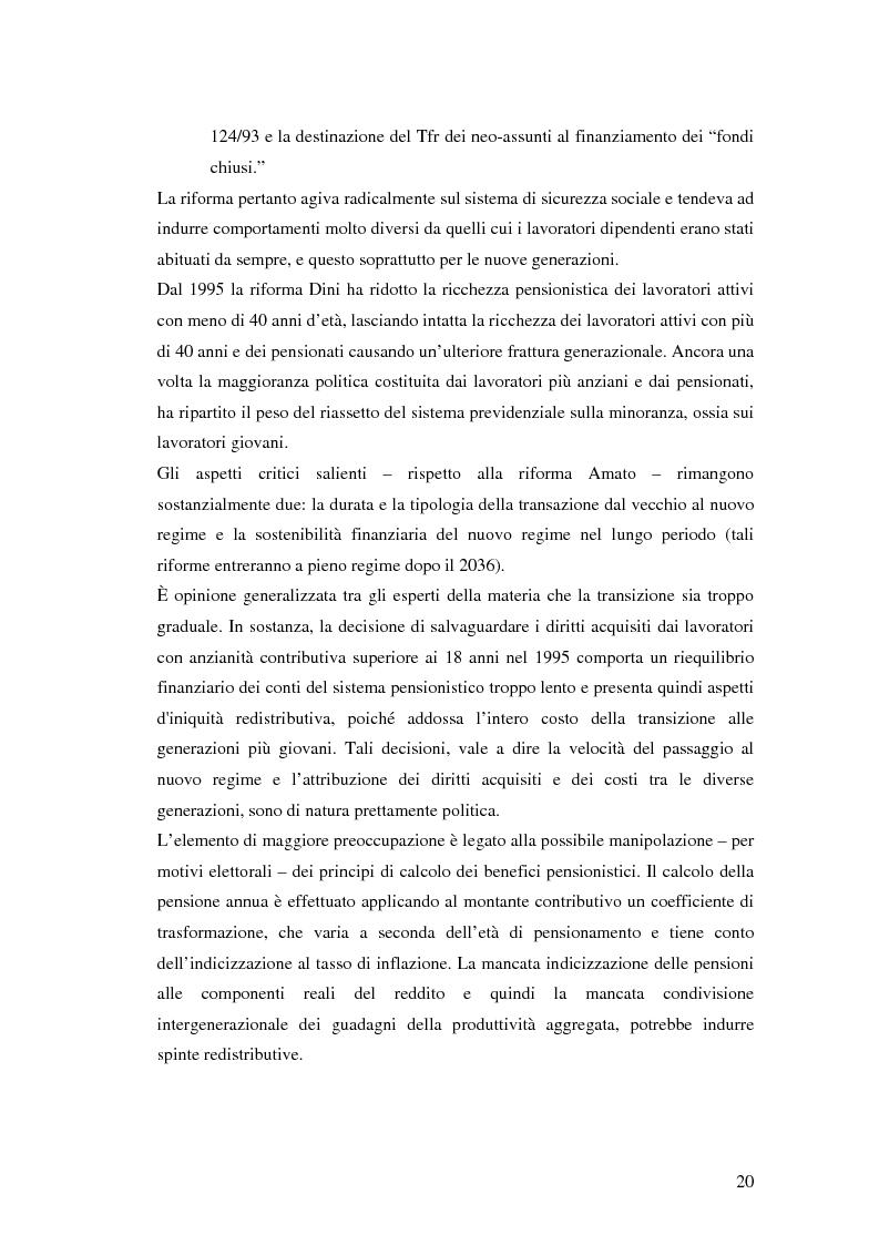 Anteprima della tesi: Il terzo pilastro della previdenza: analisi di un decollo mancato, Pagina 15
