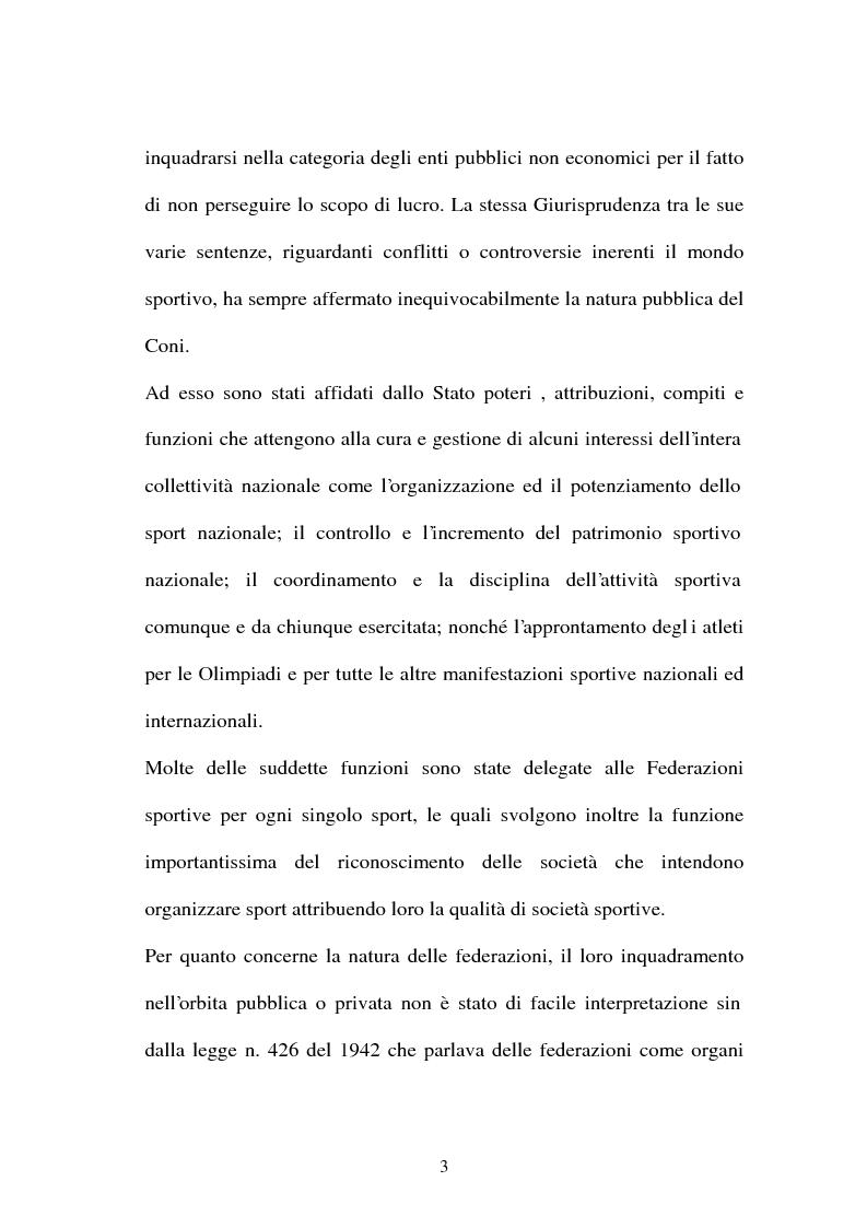 Anteprima della tesi: Lavoro sportivo, Pagina 3