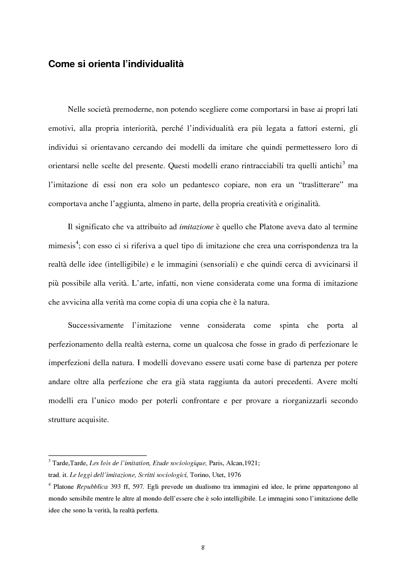Anteprima della tesi: I mass media e il ruolo del gusto nella società moderna, Pagina 4