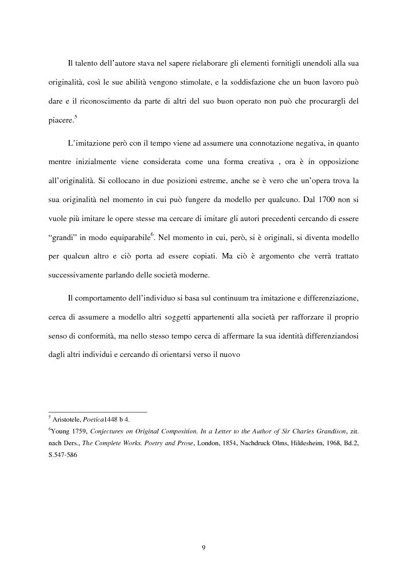 Anteprima della tesi: I mass media e il ruolo del gusto nella società moderna, Pagina 5
