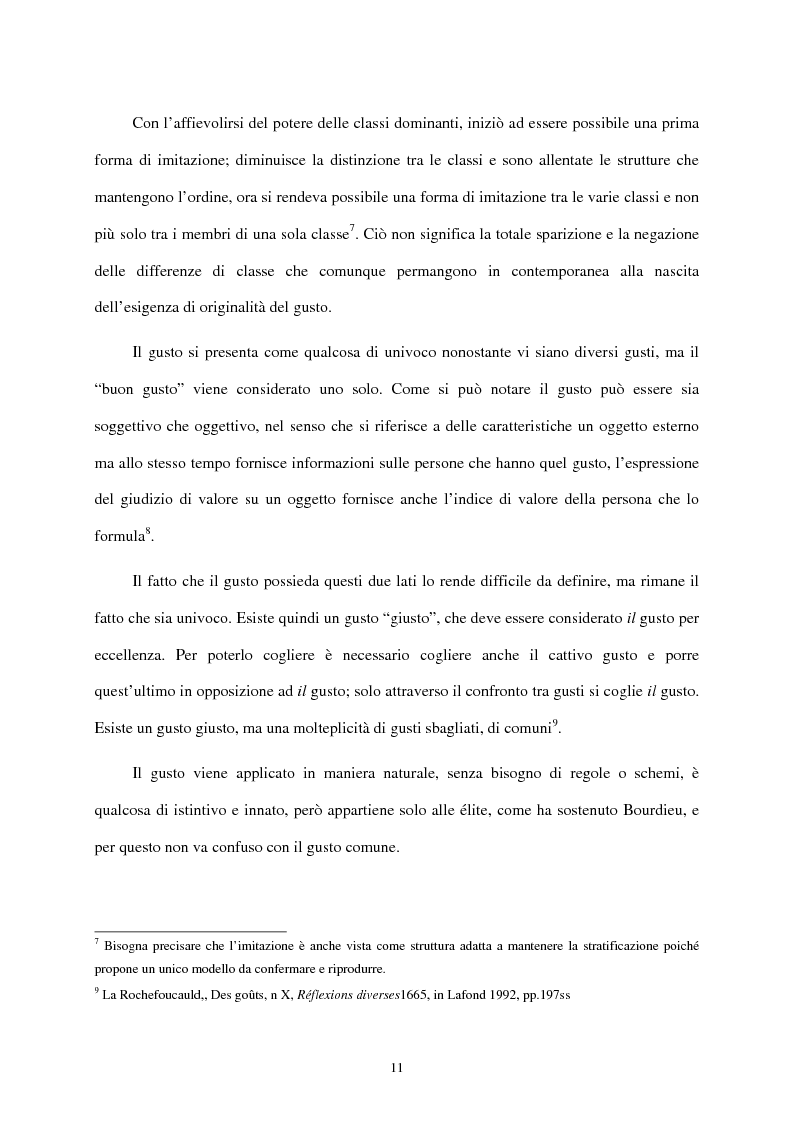 Anteprima della tesi: I mass media e il ruolo del gusto nella società moderna, Pagina 7