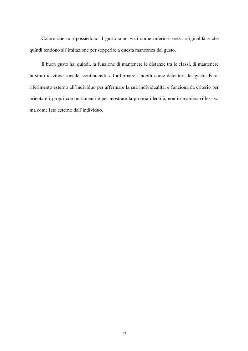 Anteprima della tesi: I mass media e il ruolo del gusto nella società moderna, Pagina 8