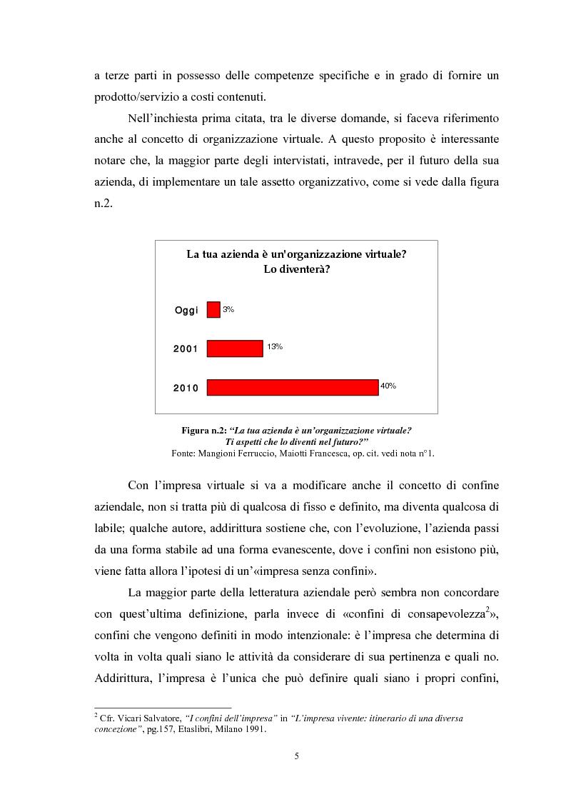 Anteprima della tesi: I vantaggi e i rischi dell'outsourcing: il global service di manutenzione in Solvay Chimica Italia SpA, Pagina 3