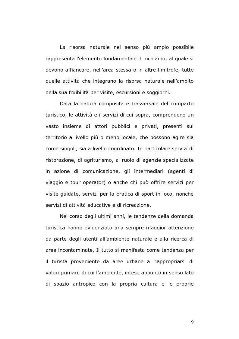 Anteprima della tesi: Un modello di sviluppo ecocompatibile: il progetto ''Banca dati Vestina'', Pagina 7