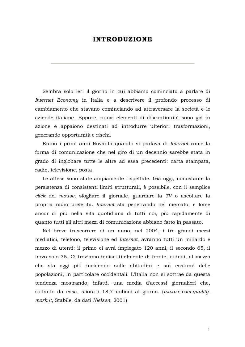 Anteprima della tesi: Prospettive di sviluppo nel mobile commerce, Pagina 1