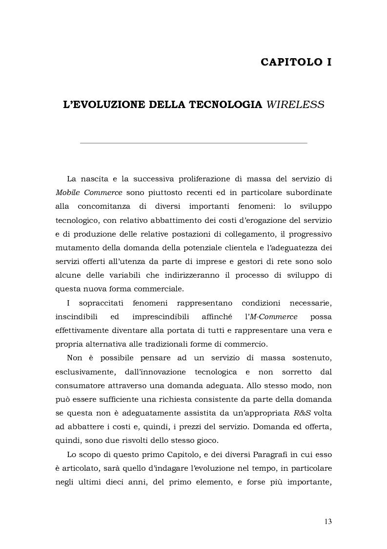 Anteprima della tesi: Prospettive di sviluppo nel mobile commerce, Pagina 13