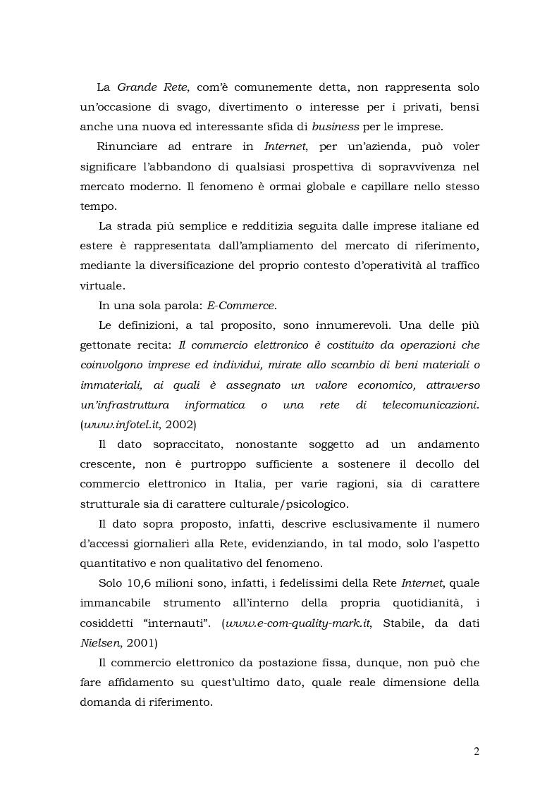 Anteprima della tesi: Prospettive di sviluppo nel mobile commerce, Pagina 2