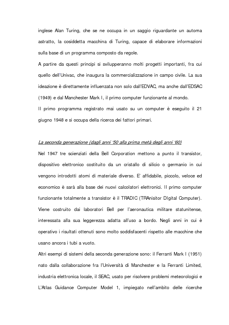 Anteprima della tesi: L'informatica esposta al museo: analisi e prospettive, Pagina 14