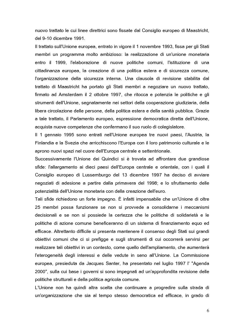Anteprima della tesi: Cooperazione economica e ambientale dell'Unione europea con paesi del sud del Mediterraneo, Pagina 4