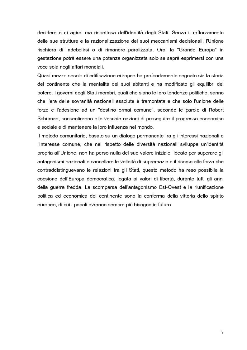 Anteprima della tesi: Cooperazione economica e ambientale dell'Unione europea con paesi del sud del Mediterraneo, Pagina 5