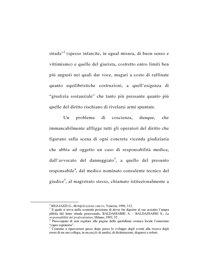 Anteprima della tesi: Responsabilità civile del medico per l'errore diagnostico, Pagina 2