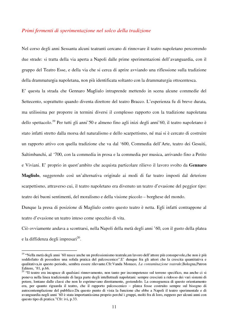 Anteprima della tesi: La sperimentazione teatrale a Napoli dal 1965 al 1975, Pagina 10