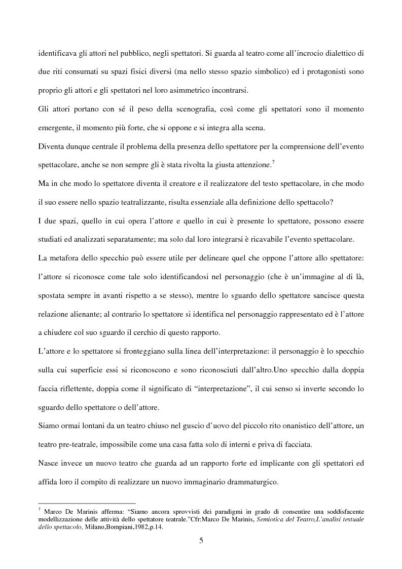 Anteprima della tesi: La sperimentazione teatrale a Napoli dal 1965 al 1975, Pagina 4