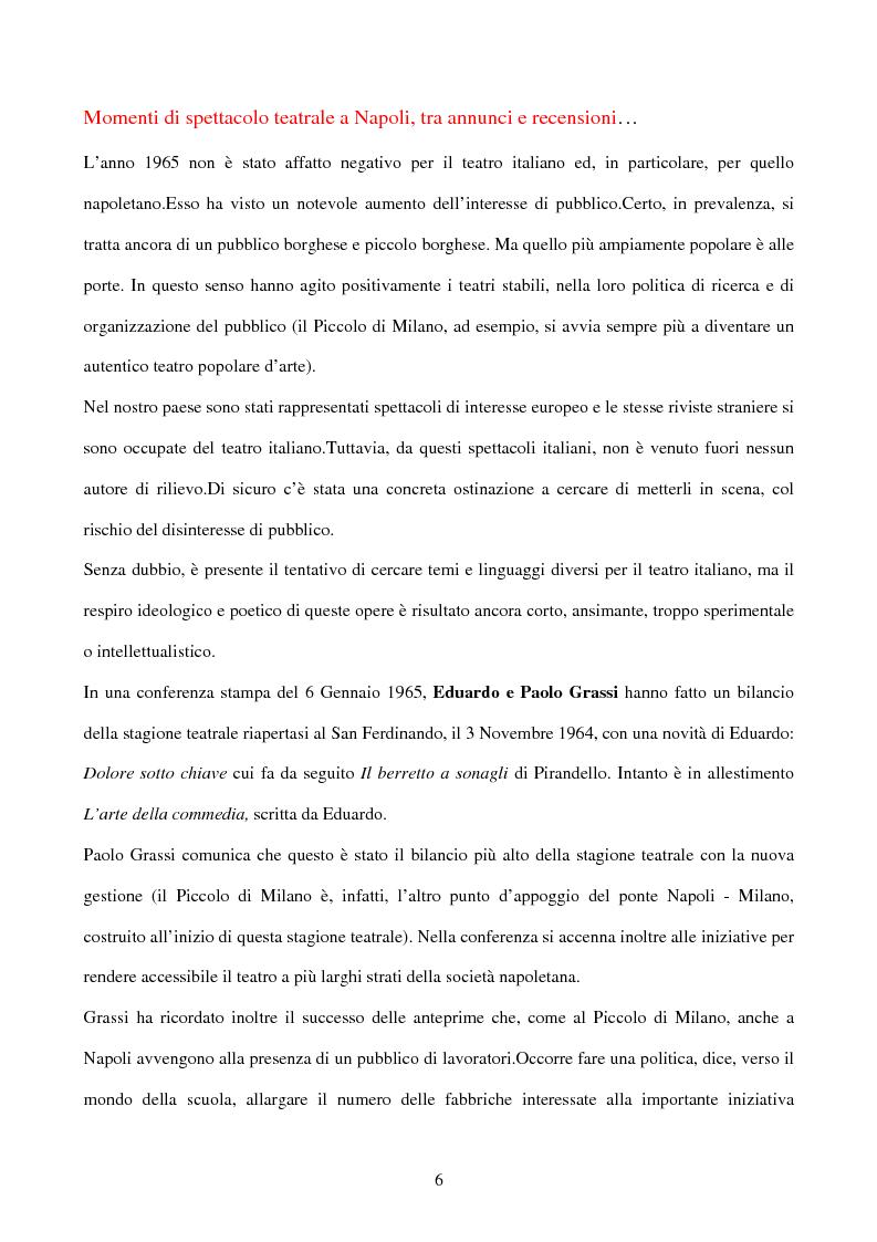 Anteprima della tesi: La sperimentazione teatrale a Napoli dal 1965 al 1975, Pagina 5