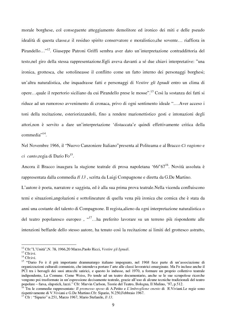 Anteprima della tesi: La sperimentazione teatrale a Napoli dal 1965 al 1975, Pagina 8