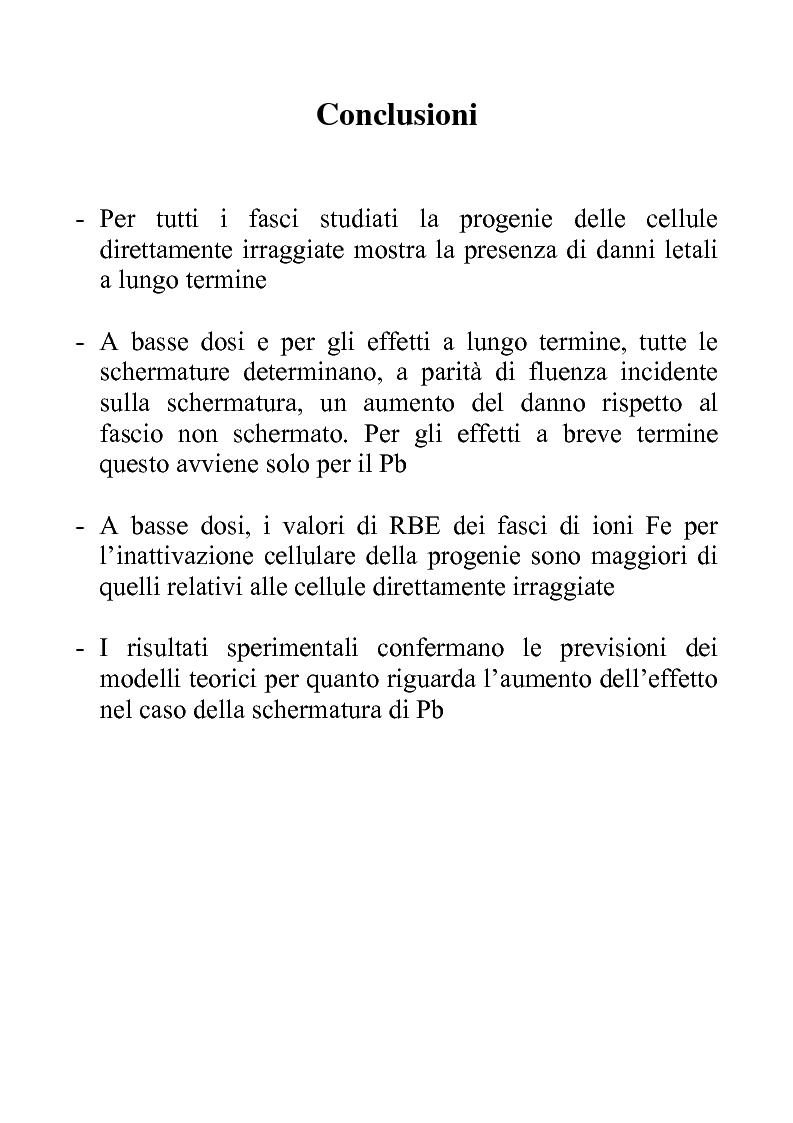 Anteprima della tesi: Efficacia biologica della radiazione spaziale in presenza di schermature, Pagina 15