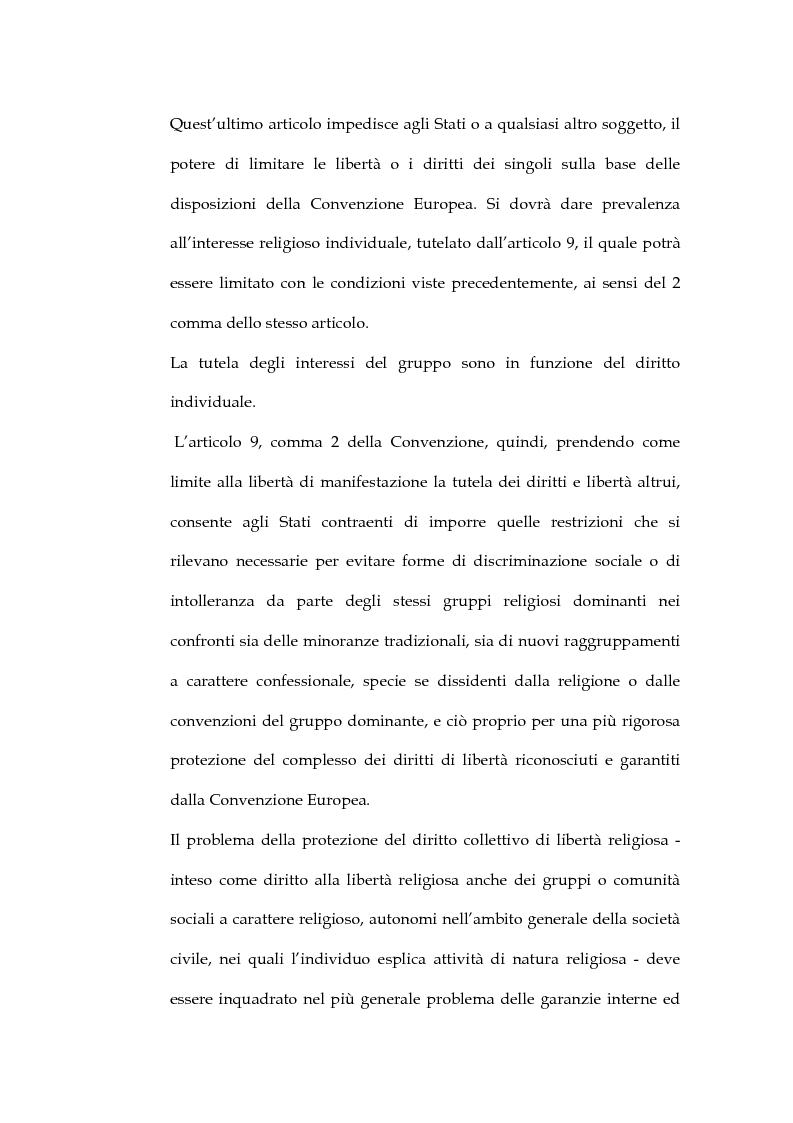 Anteprima della tesi: La sentenza della Corte Europea dei diritti dell'uomo Refah Partisi contro Turchia - Aspetti della libertà di religione in Turchia, Pagina 14