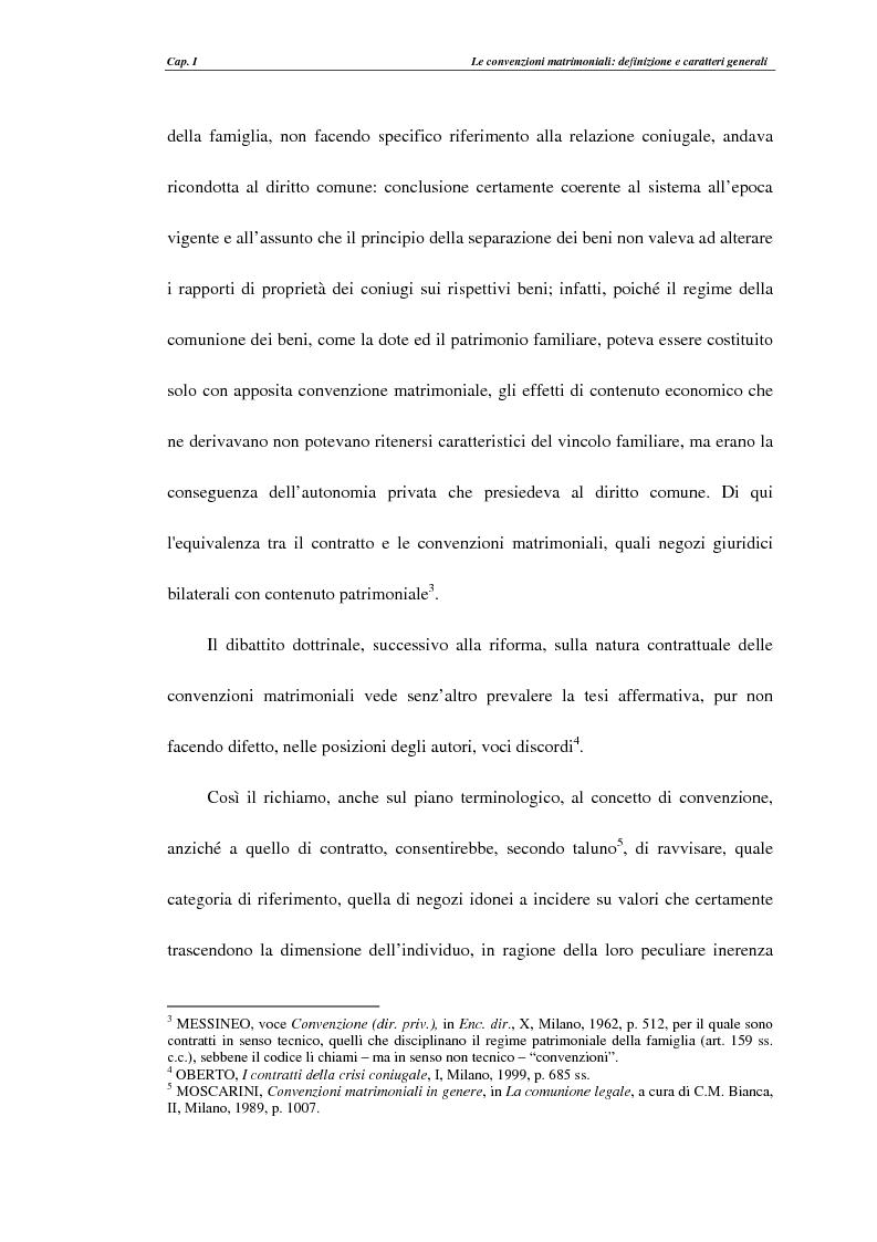 Anteprima della tesi: Le convenzioni matrimoniali, Pagina 11