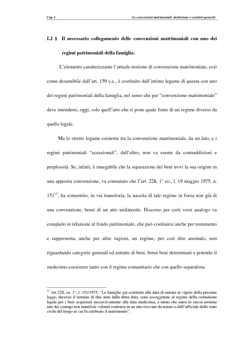 Anteprima della tesi: Le convenzioni matrimoniali, Pagina 14