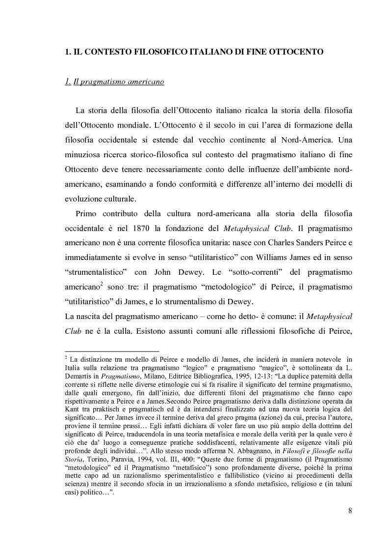 Anteprima della tesi: La filosofia del diritto di Mario Calderoni, Pagina 5