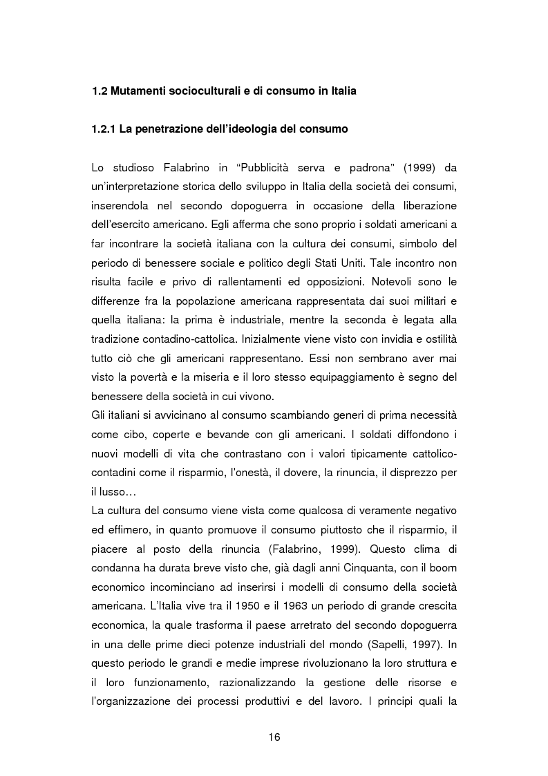 Anteprima della tesi: La critica ai consumi: la sottocultura No global, Pagina 13