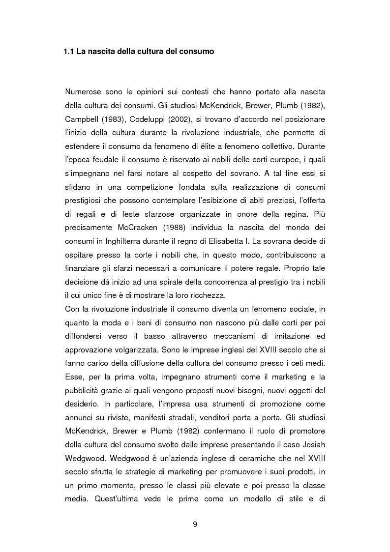 Anteprima della tesi: La critica ai consumi: la sottocultura No global, Pagina 6