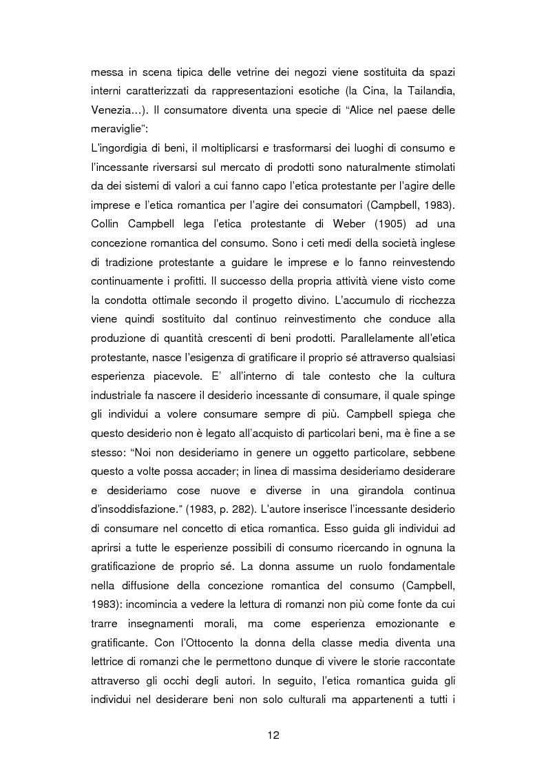Anteprima della tesi: La critica ai consumi: la sottocultura No global, Pagina 9