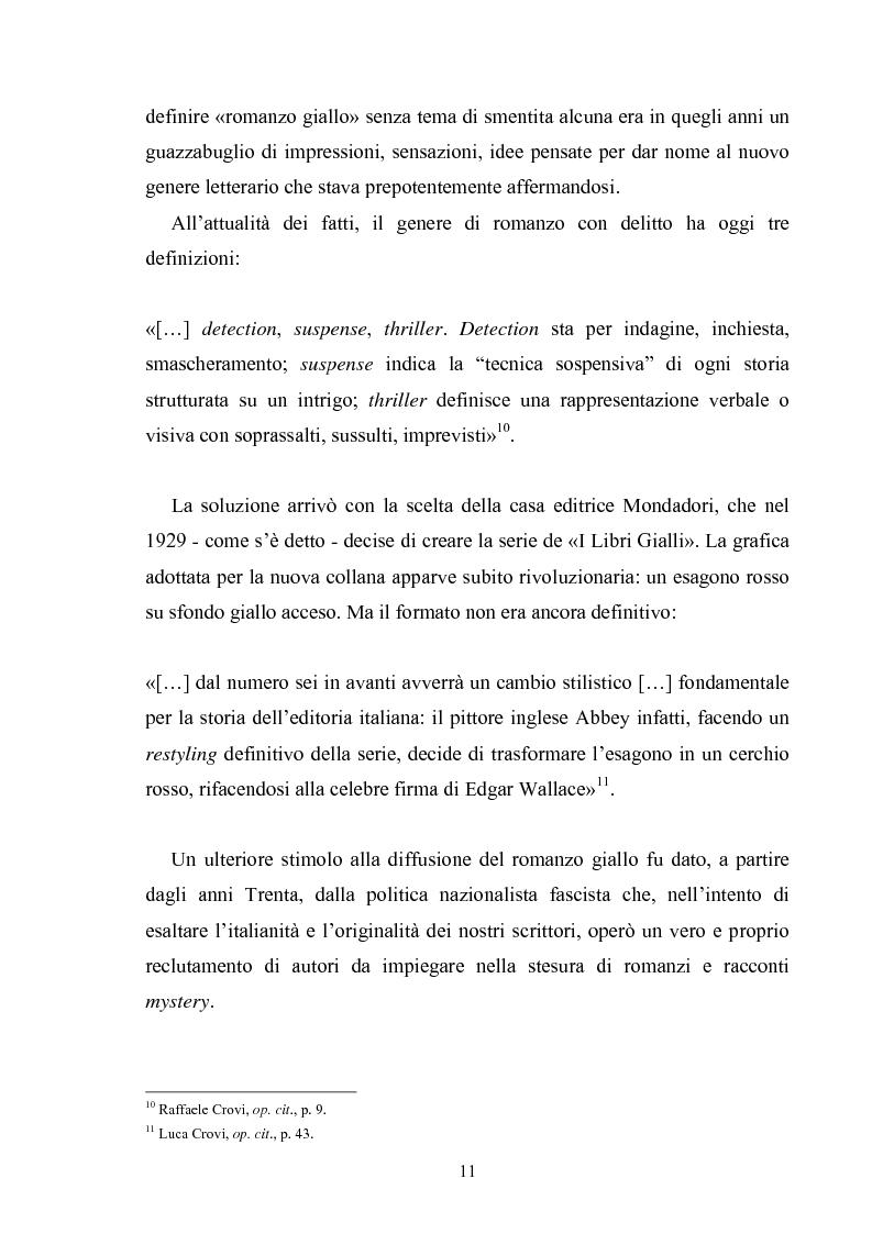 Anteprima della tesi: Andrea Camilleri e il romanzo giallo, Pagina 10