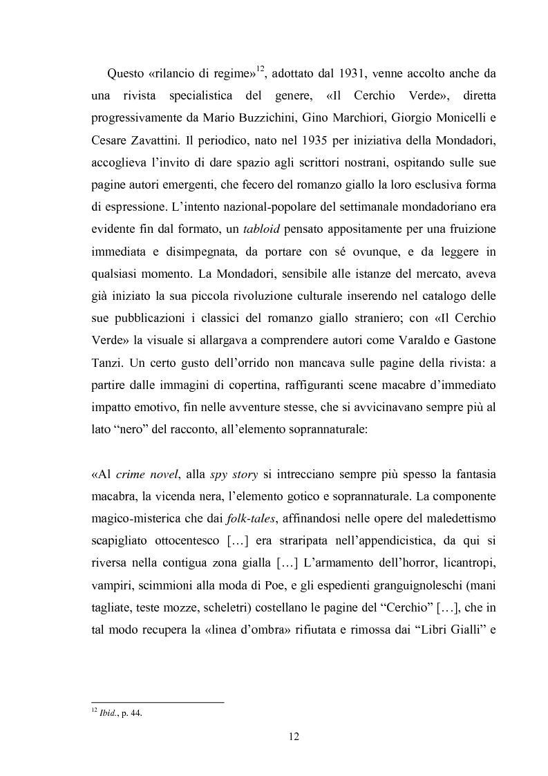 Anteprima della tesi: Andrea Camilleri e il romanzo giallo, Pagina 11