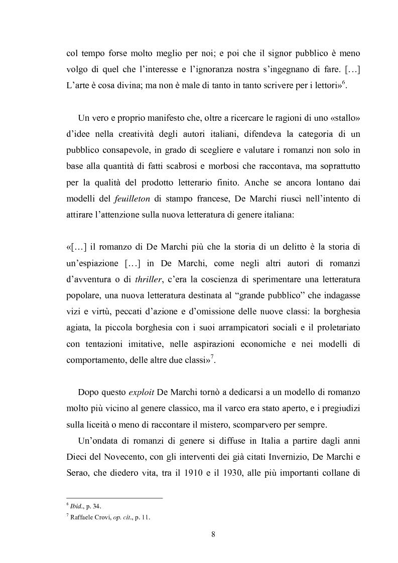 Anteprima della tesi: Andrea Camilleri e il romanzo giallo, Pagina 7