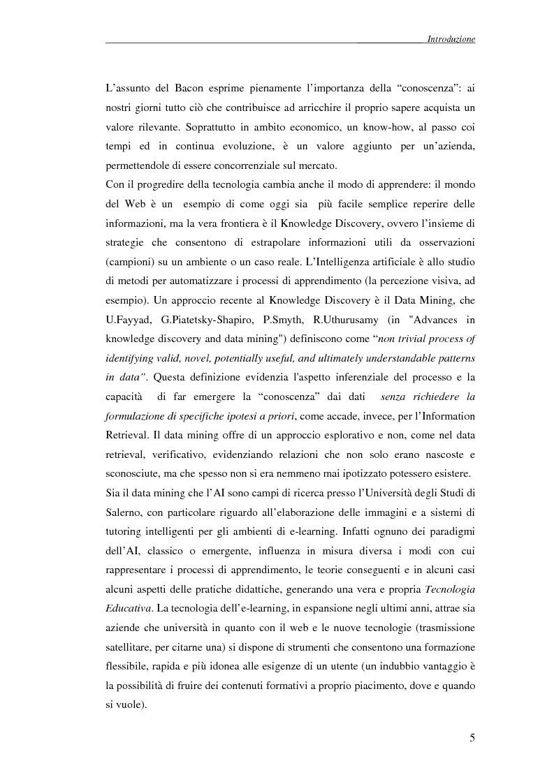 Anteprima della tesi: Reti Bayesiane: un approccio multi-esperto allo structural learning, Pagina 2