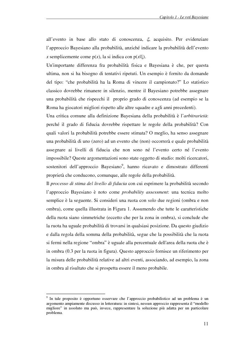 Anteprima della tesi: Reti Bayesiane: un approccio multi-esperto allo structural learning, Pagina 8
